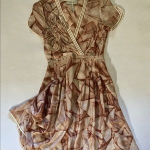 MAX AZRIA Silk Dress